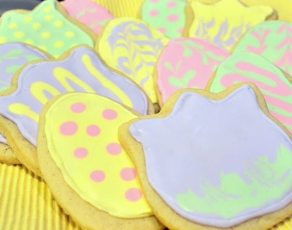 Lemon-Vanilla Sugar Cookies