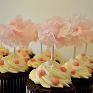 Sour Cream Chocolate Cupcakes