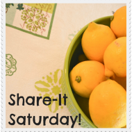 Share-It Saturday: Week 8