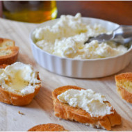 Homemade Ricotta Cheese