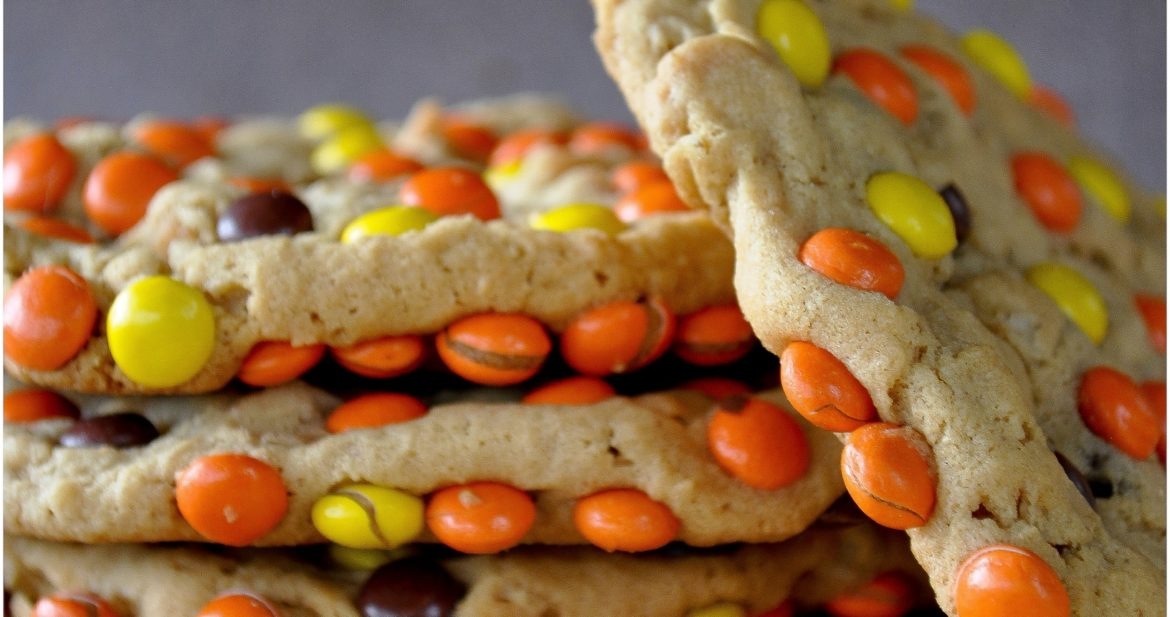Peanut Butter Monster Cookies