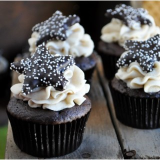 Mexican Hot Chocolate Cupcakes