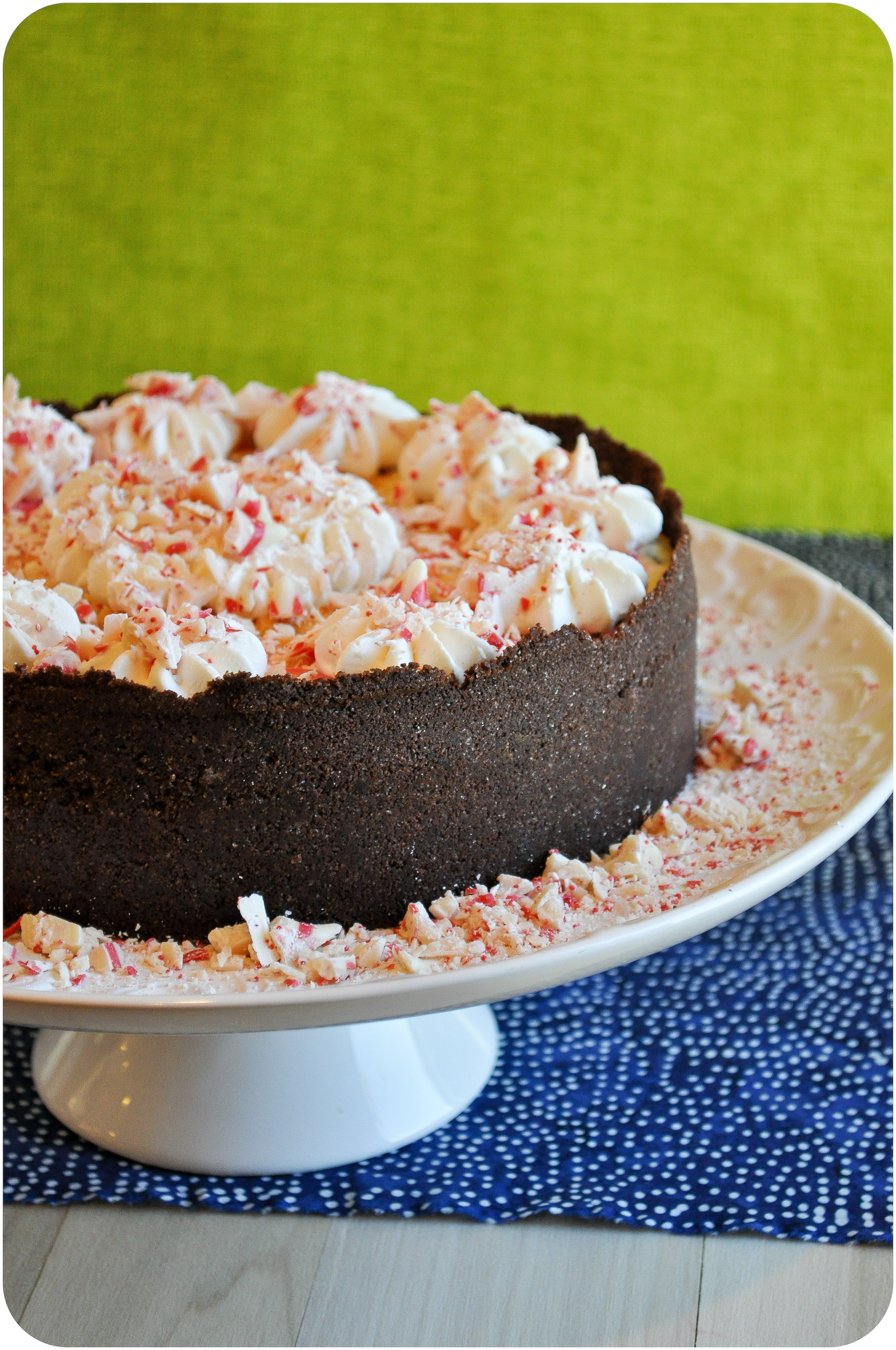 Peppermint Bark Cheesecake-0007