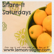 Share-It Saturday: Week 7