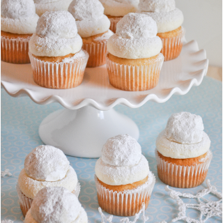 Snowball Cupcakes Lemon Sugar 1