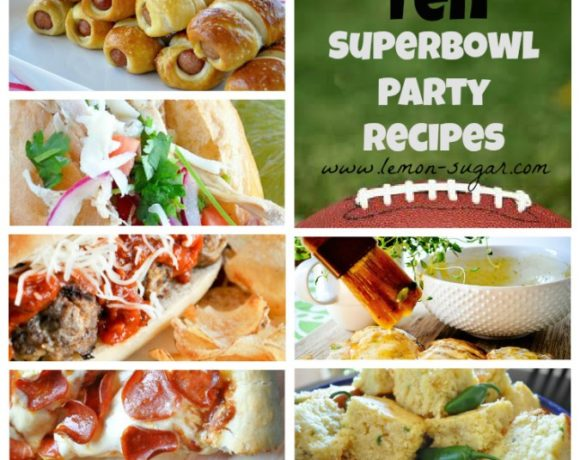 Superbowl Recipe Roundup