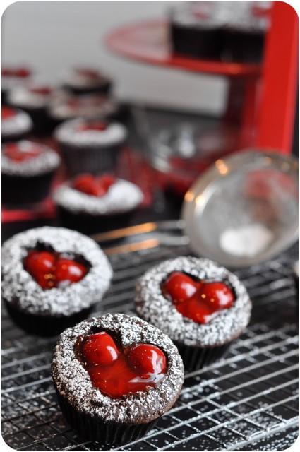 Cherry Cordial Cupcakes | www.lemon-sugar.com