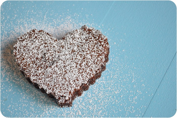I Love You Brownies by Lemon Sugar {www.lemon-sugar.com}