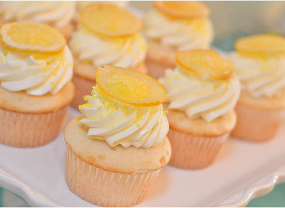 Lemon Sunshine Cupcakes