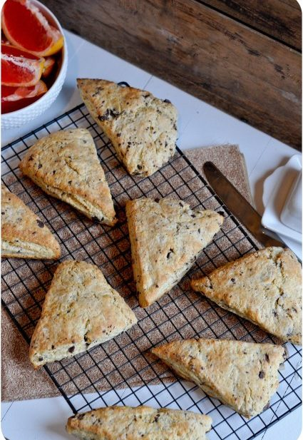 Chocolate Chip Scones-1-3