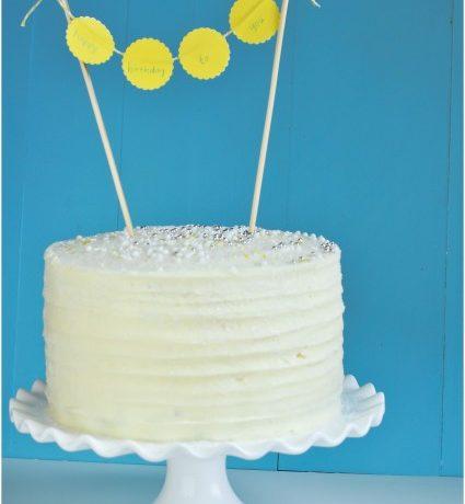 Chocolate Cake with Vanilla Butter Cream