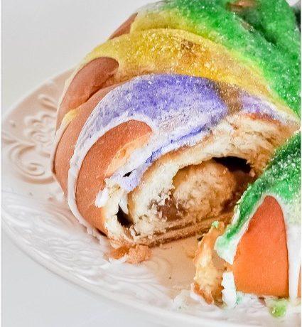 King Cake, Filled Two Ways