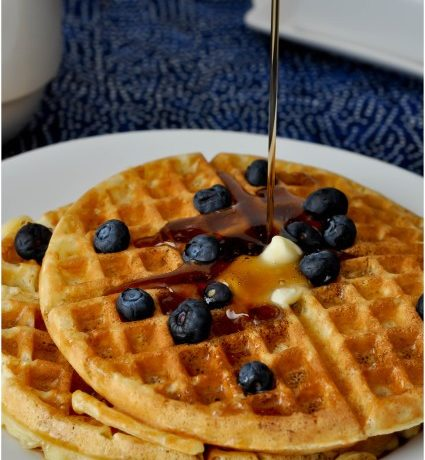 Waffles. Really Delicious Waffles.