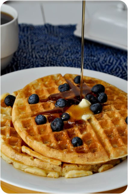 The Greatest Waffle Recipe Ever | www.lemon-sugar.com