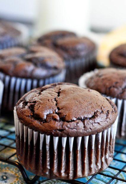 Jumbo Chocolate Muffins-1-6