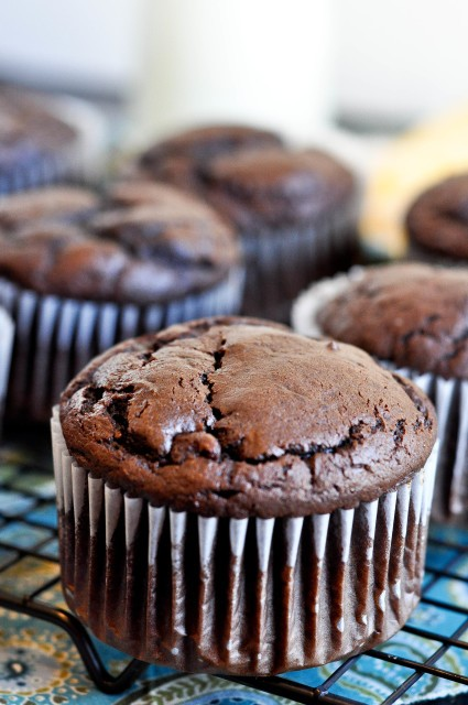 Giant Chocolate Muffins