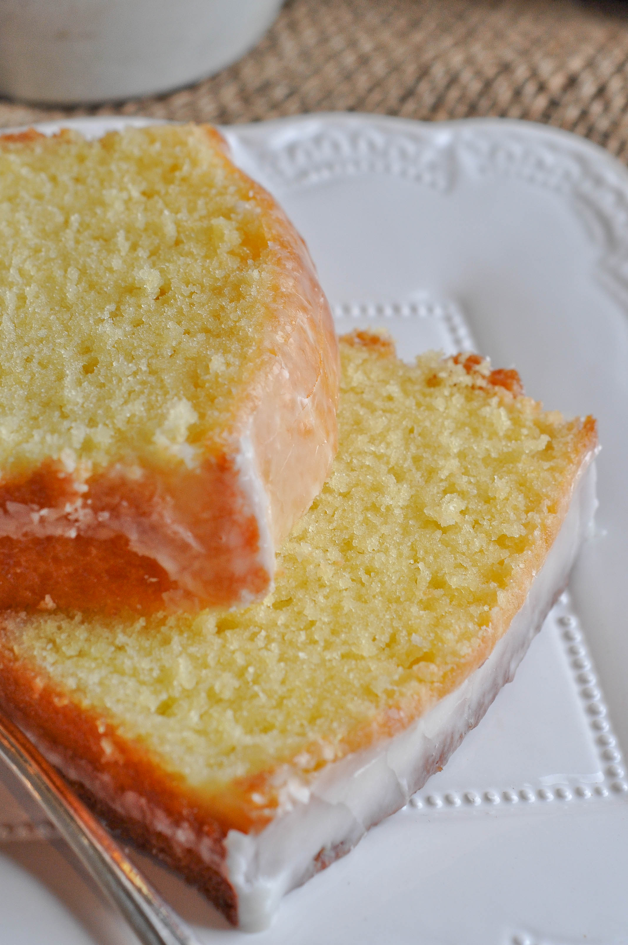 Meyer Lemon Sour Cream Pound Cake Lemon Sugar