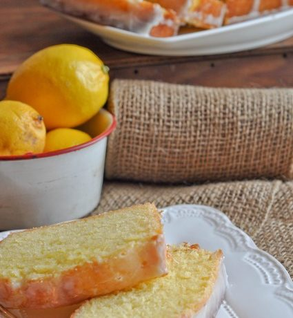 Meyer Lemon Sour Cream Pound Cake
