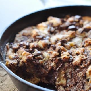 Dark Chocolate Chip Skillet Cookie-1-3