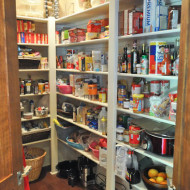 A Pantry Makeover with Organized Living™ (Part 1: Before)