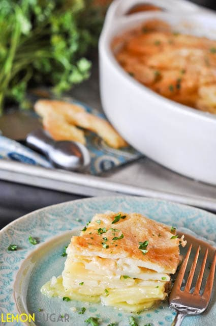 Castello Moments:  Potato Gratin