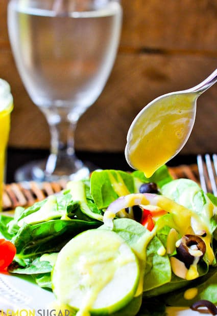 Honey Mustard Salad Dressing-0018
