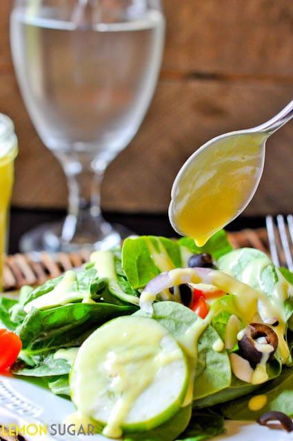 Honey Mustard Salad Dressing-0018
