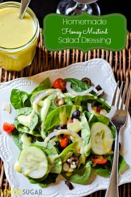 Honey Mustard Salad Dressing Titled