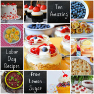 Ten Amazing Labor Day Recipes
