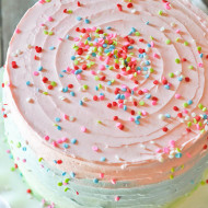 Five Layer Celebration Cake