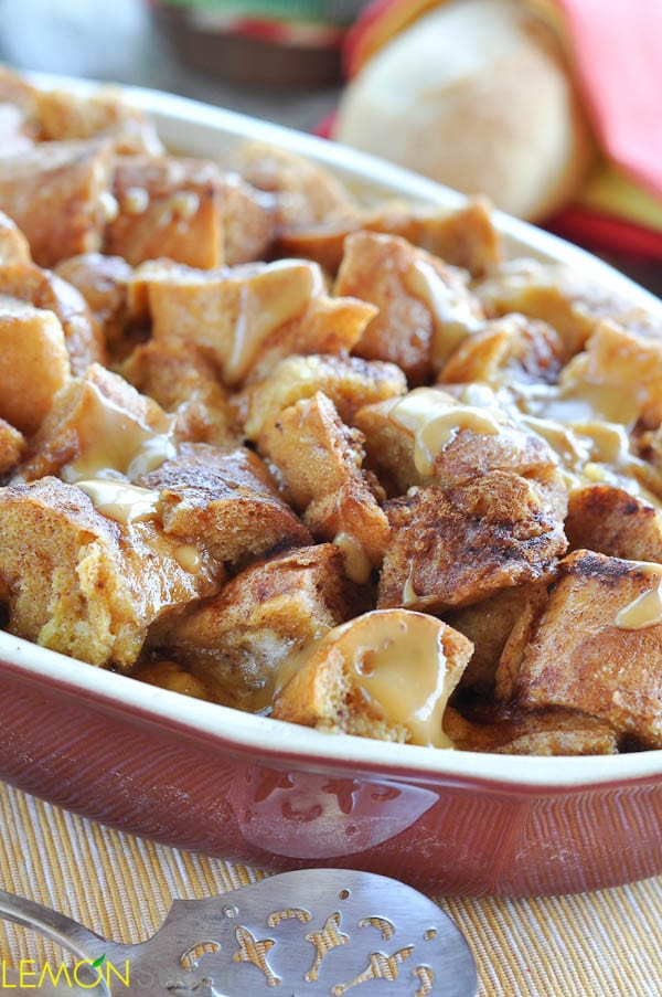 Caramel Bread Pudding | www.lemon-sugar.com
