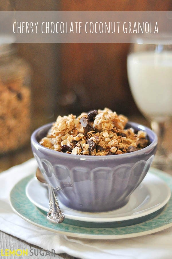 Cherry Chocolate Granola FB2