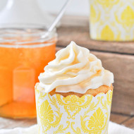 Honey & Vanilla Bean Cupcakes