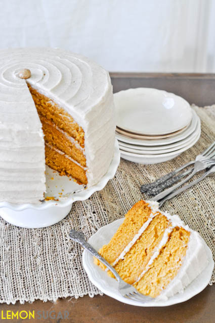 Pumpkin Dream Cake | www.lemon-sugar.com