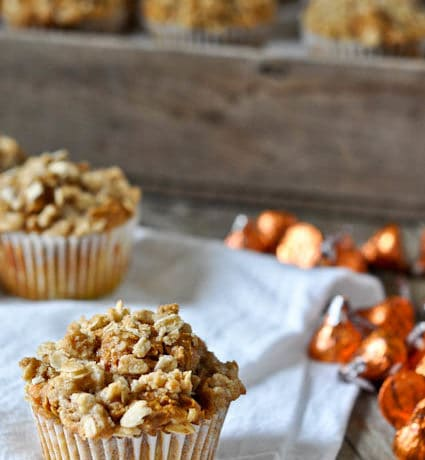 Pumpkin Kisses Muffins