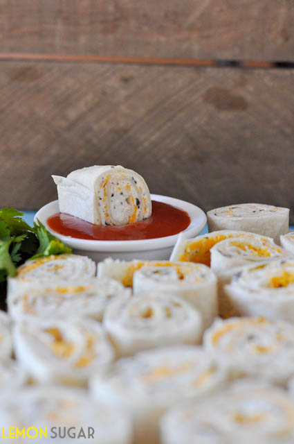Tortilla Pinwheels | www.lemon-sugar.com