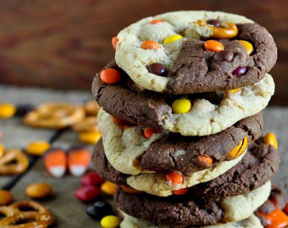 Black & White Monster Cookies