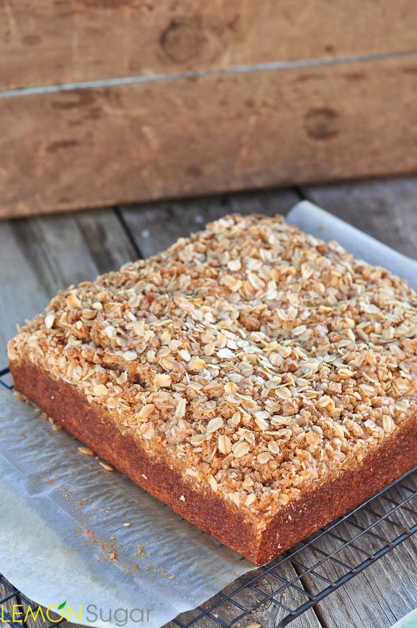 Pumpkin Crumb Cake | www.lemon-sugar.com