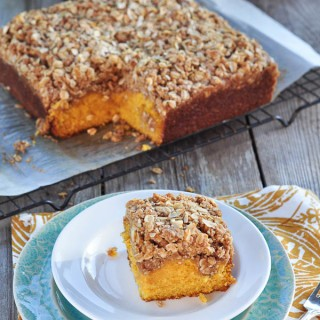 Pumpkin Crumb Cake: A Throwback