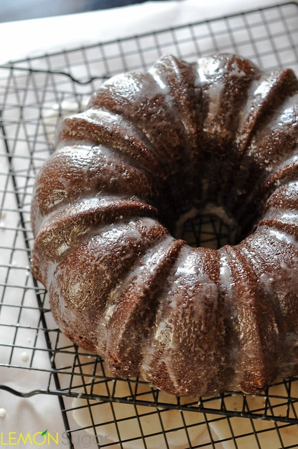 Chocolate Syrup Bundt Cake | www.lemon-sugar.com