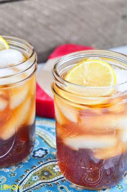 Perfect Sweet Tea | www.lemon-sugar.com