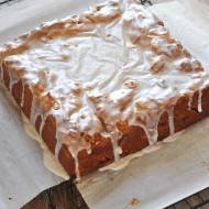 Spiced Apple Coffee Cake