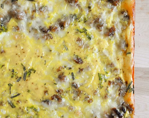 Sausage & Egg Breakfast Casserole