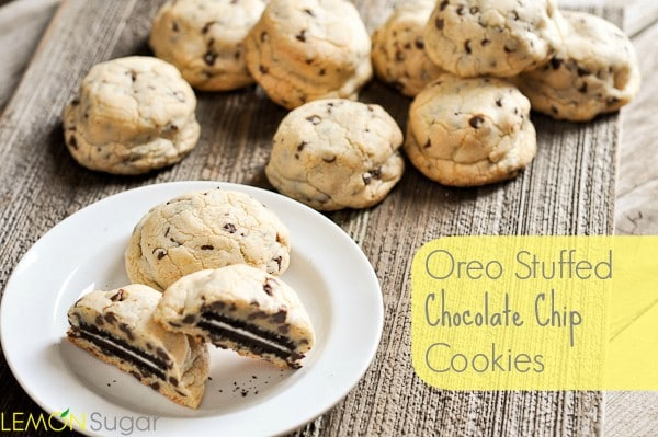 Oreo Stuffed Chocolate Chip Cookies | www.lemon-sugar.com