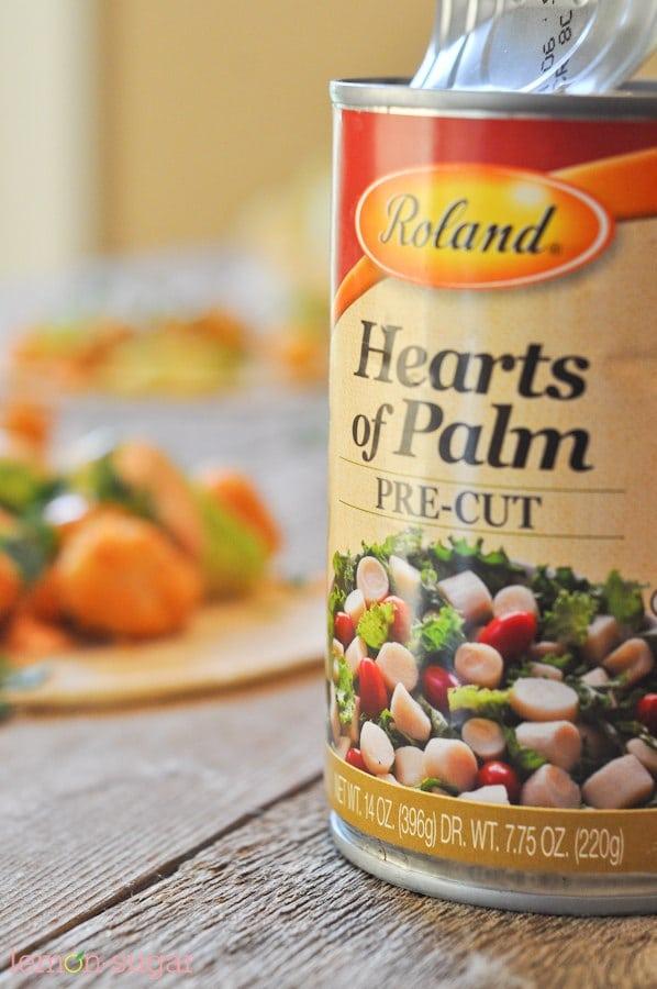 Hearts of Palm Street Tacos | www.lemon-sugar.com