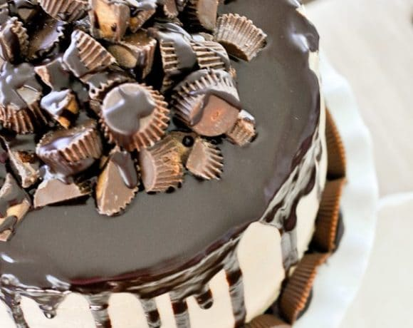 The Ultimate Peanut Butter Chocolate Cake