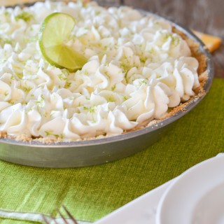 Super Simple Key Lime Pie
