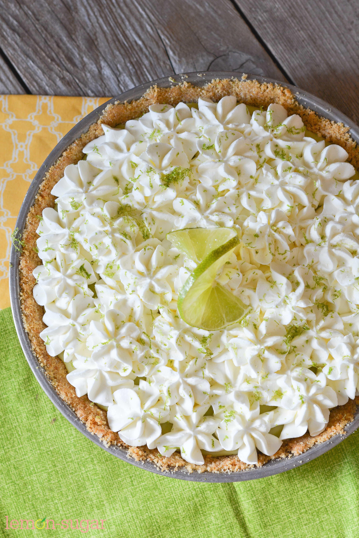 Super Simple Key Lime Pie | www.lemon-sugar.com