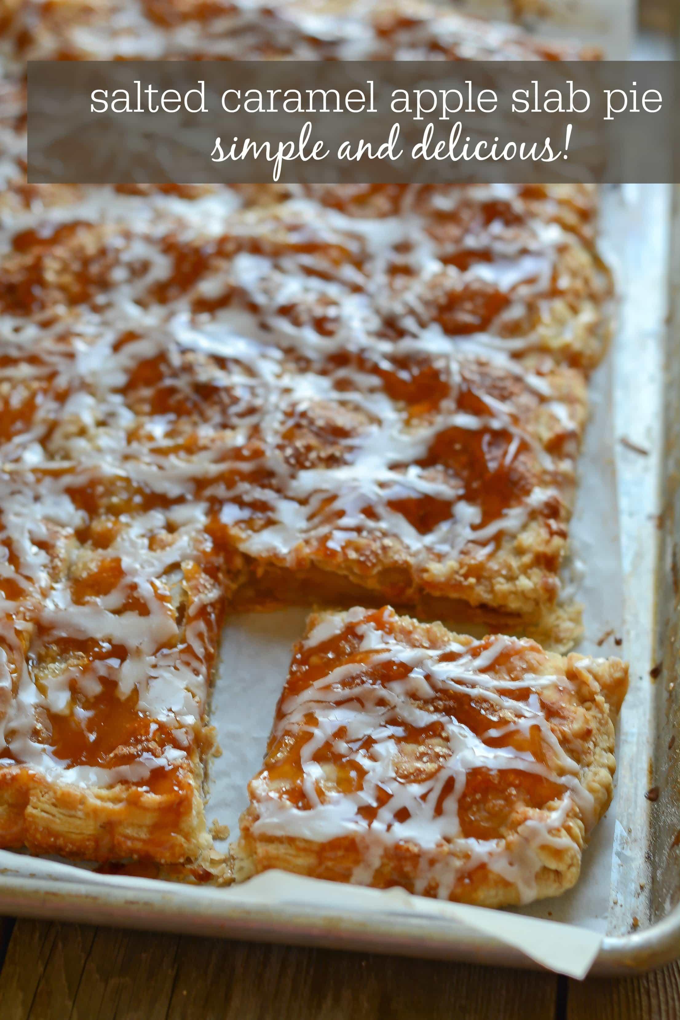 Slab Apple Pie | Lemon Sugar