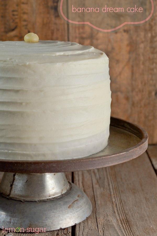 Banana Dream Cake FB